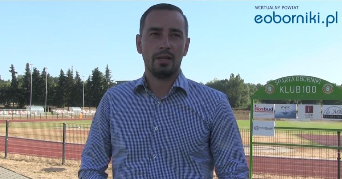 Wiktor Weber - wywiad z nowym trenerem MKS Sparta Oborniki (film)