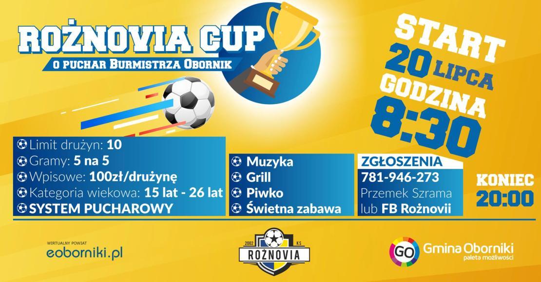 W sobotę Rożnovia Cup - harmonogram gier