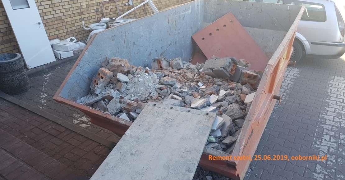 Kończy się remont szatni przy ul. Obrzyckiej 88