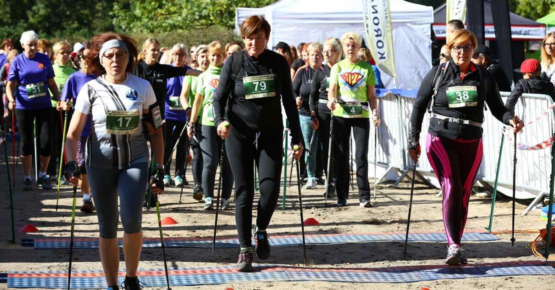 Korona Polski Nordic Walking 28.09.19 w Rożnowicach