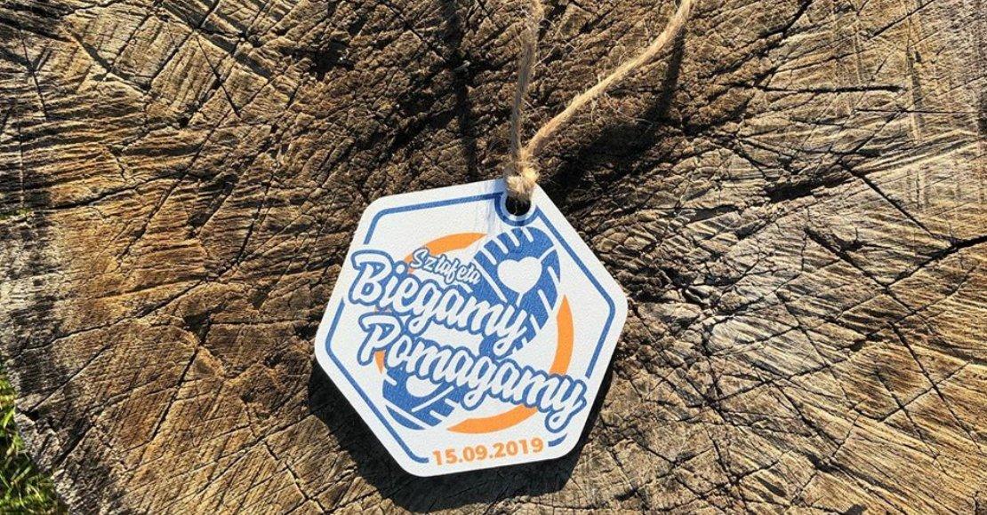 Sztafeta Biegamy Pomagamy - medal