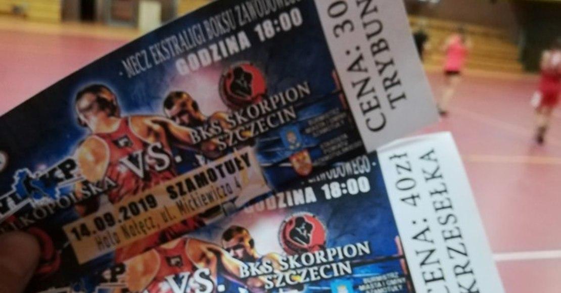 W Szamotułach odbędzie się mecz bokserski