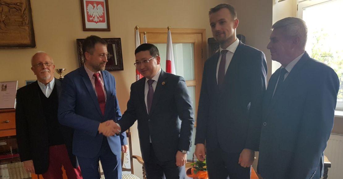 Wizyta Ambasadora Kazachstanu w Obornikach (foto)