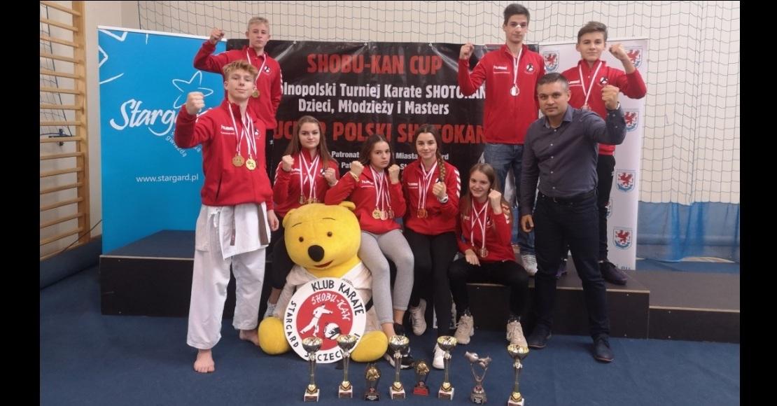 Puchar Polski dla Karate Team Oborniki (foto)