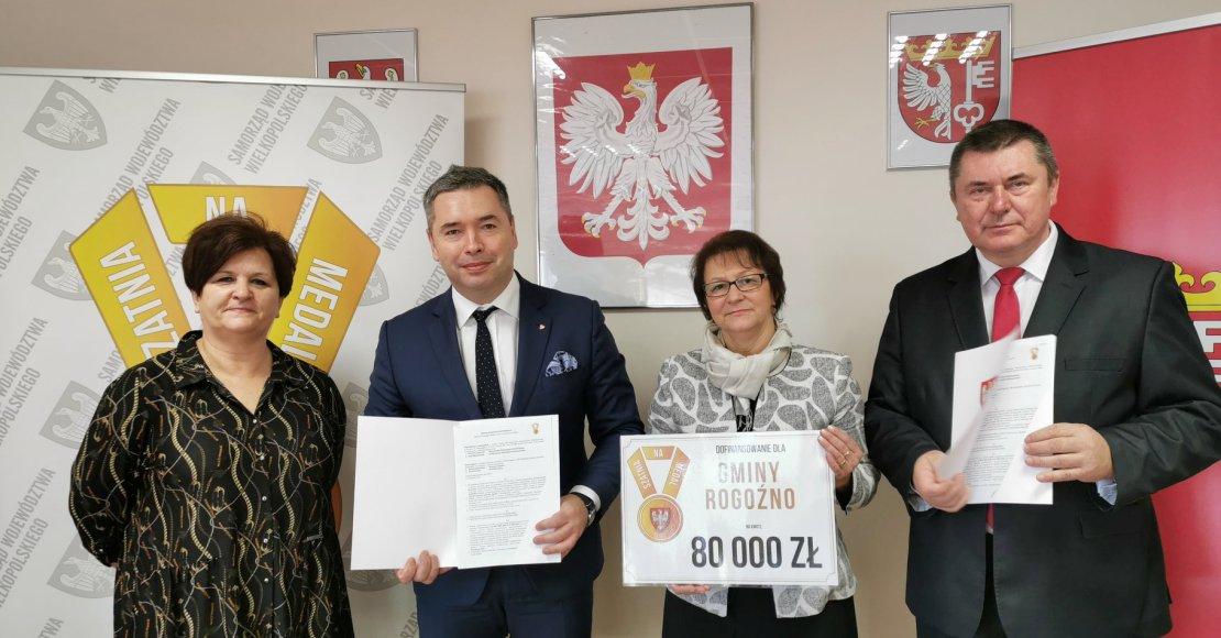 80.000 zł dofinansowania dla Gminy Rogożno