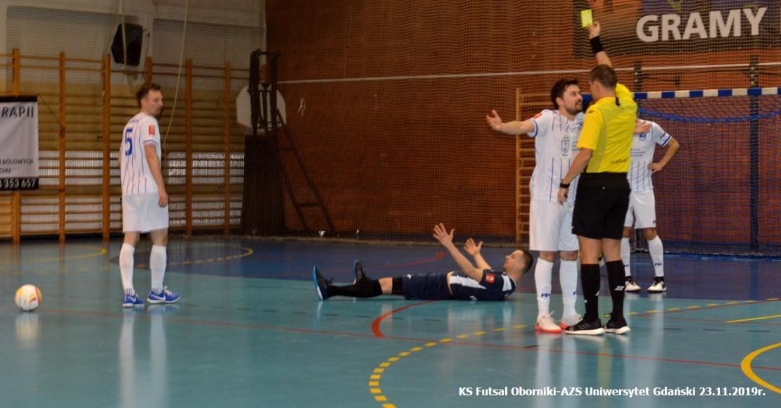 Mecz KS Futsal - AZS UG na zdjęciach