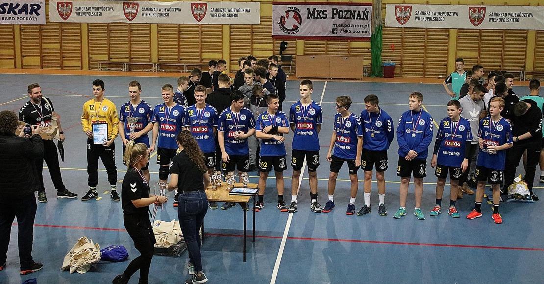 Wygrana juniorów młodszych w Poznaniu