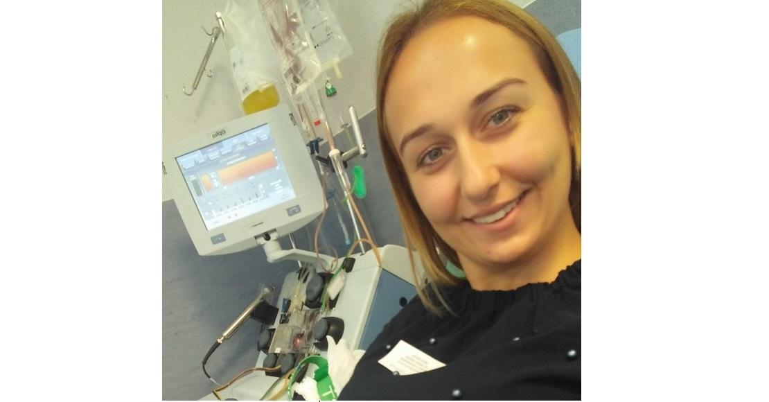 Weronika Stachowiak - historia dawcy komórek macierzystych