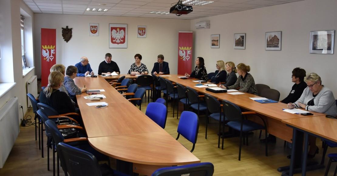 Rogozińskie spotkanie z dyrektorami szkół