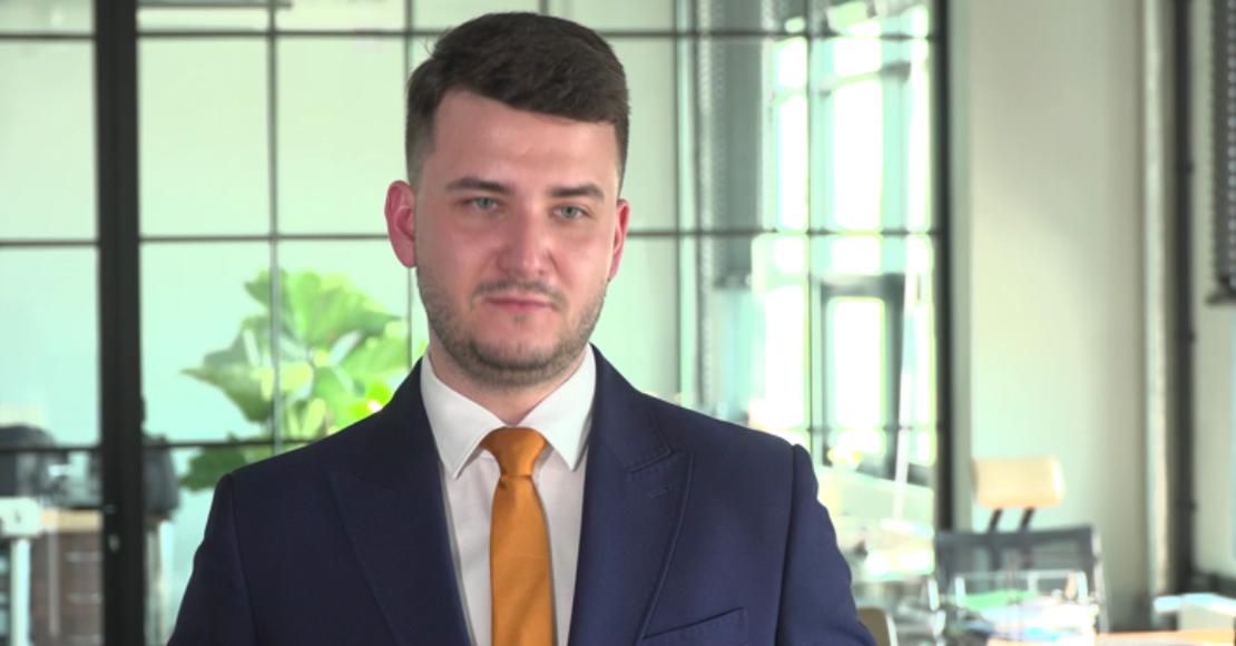 Bartłomiej Misiewicz: Innowacyjne technologie są zgodne z moimi zainteresowaniami.