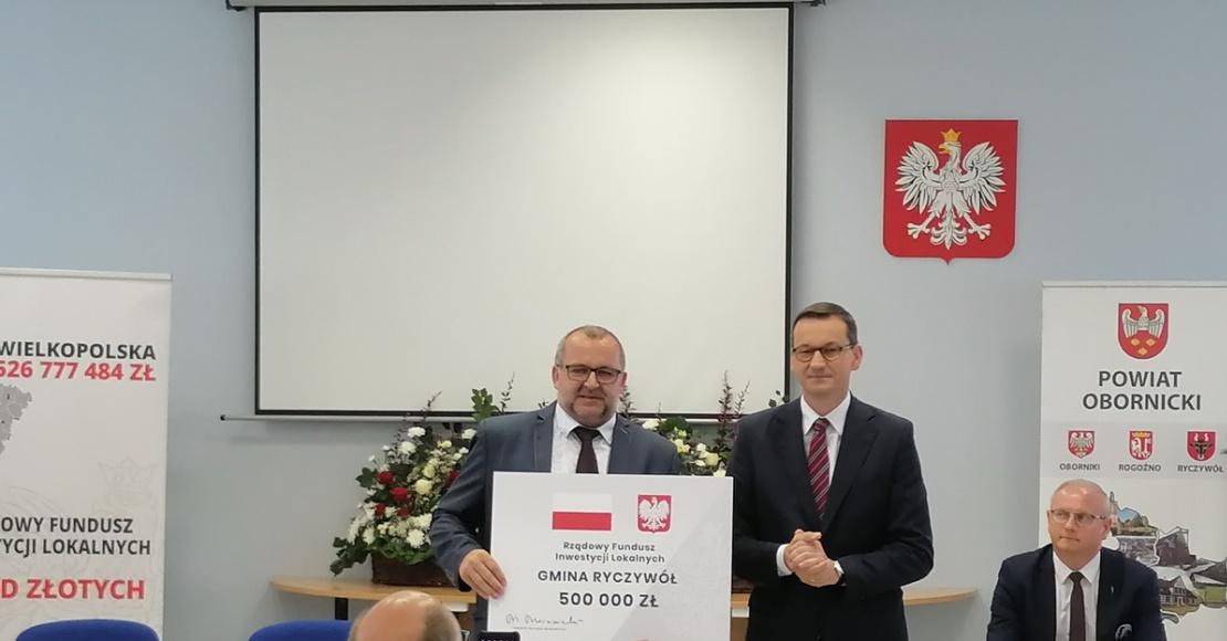 Radni o wizycie premiera Mateusza Morawieckiego