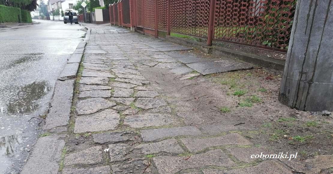 W Ryczywole w 3 miesiące przebudują chodnik (foto)