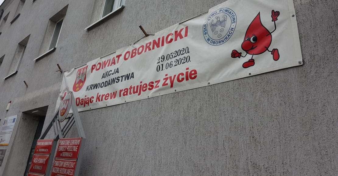 Oddaj krew, uratuj życie!