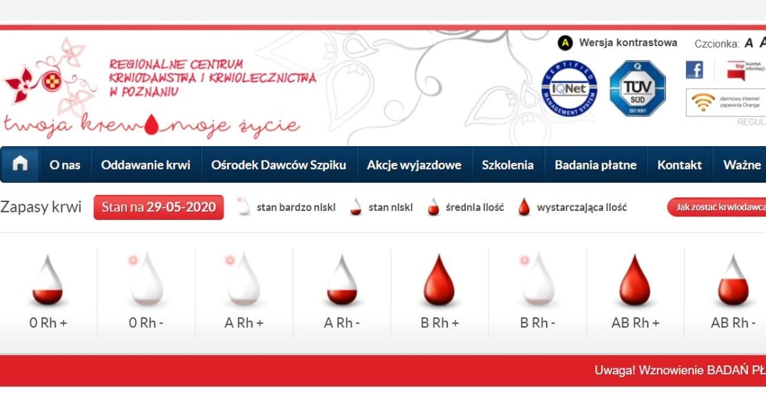 Dziś oddawali krew w Bogdanowie