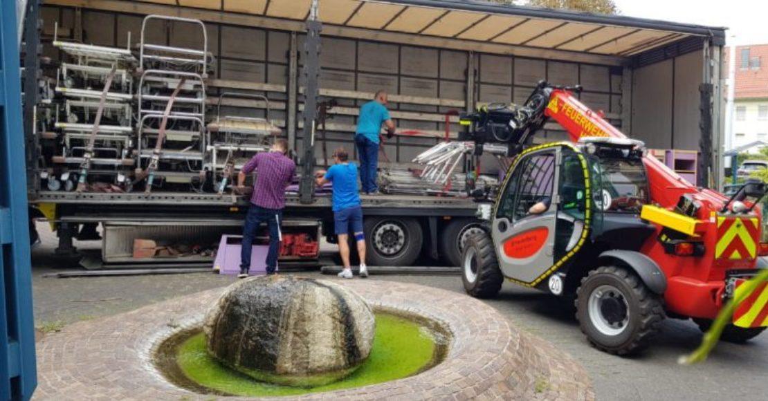 Kolejny transport darów z Niemiec (foto)