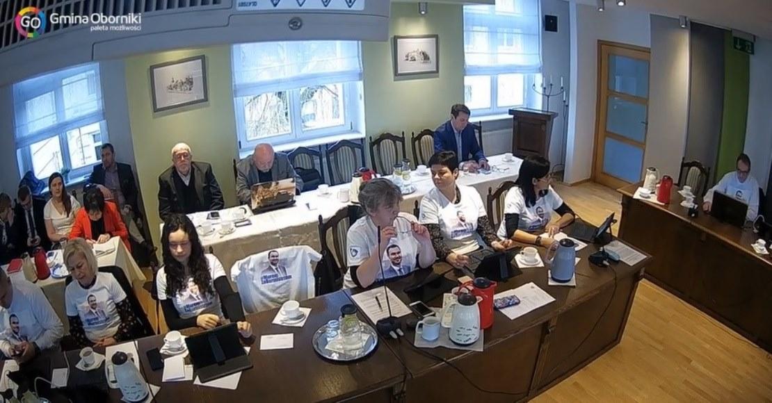 Apel obornickich radnych w sprawie odwieszenia Tomasza Szramy