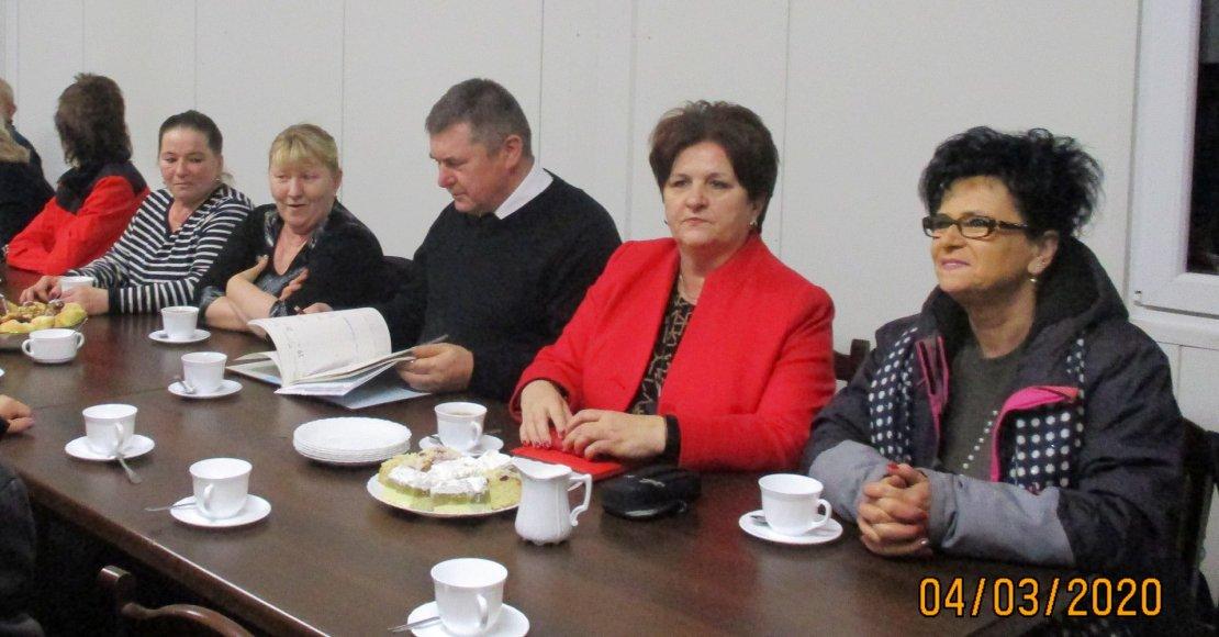 Zebranie wiejskie w Boguniewie