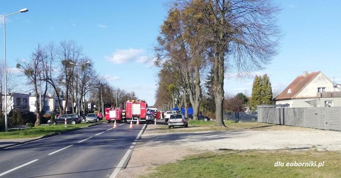 Oborniki. Śmiertelny wypadek na Czarnkowskiej
