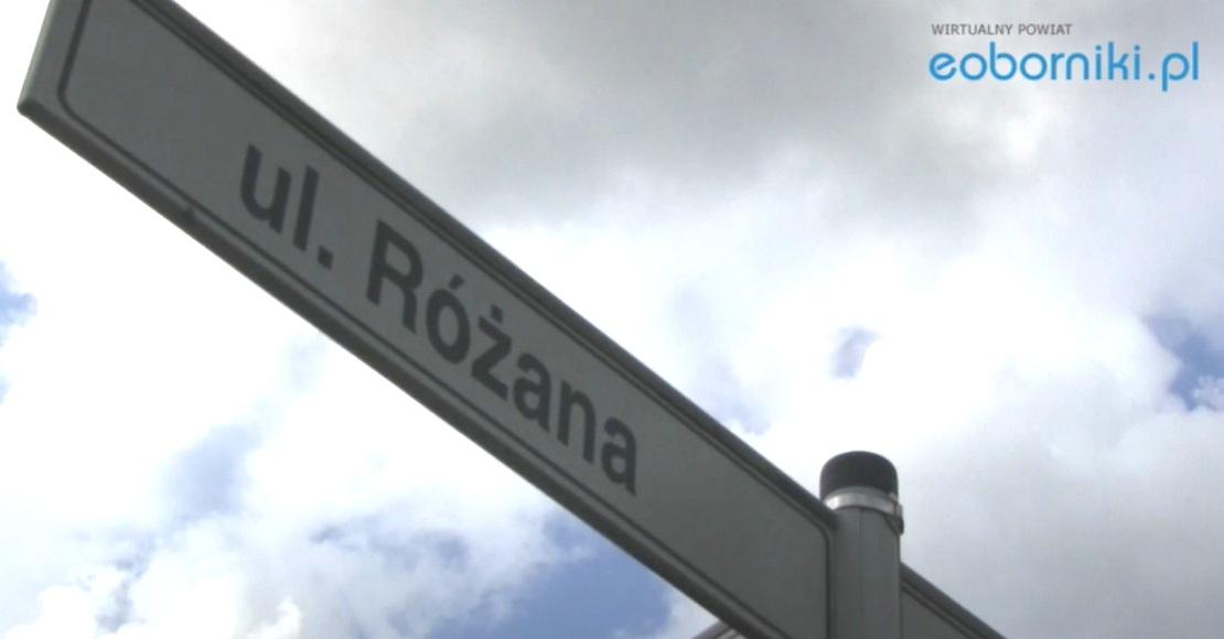 8 ofert na przebudowę ul. Różanej w Rogoźnie