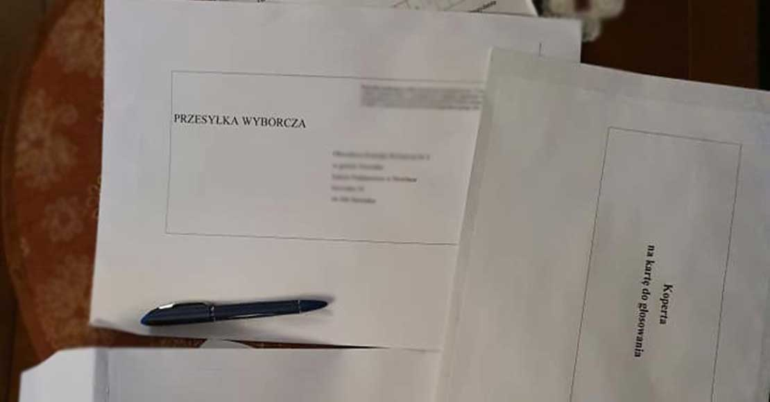 Wybory korespondencyjne już się rozpoczęły!