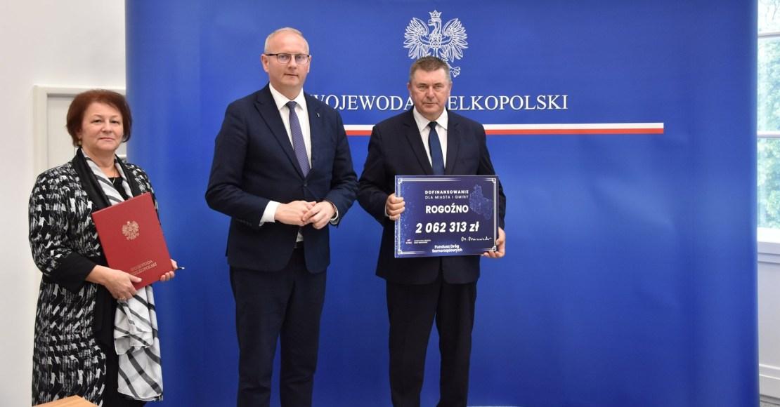Gmina Rogoźno: Kolejne dofinansowanie do inwestycji drogowych