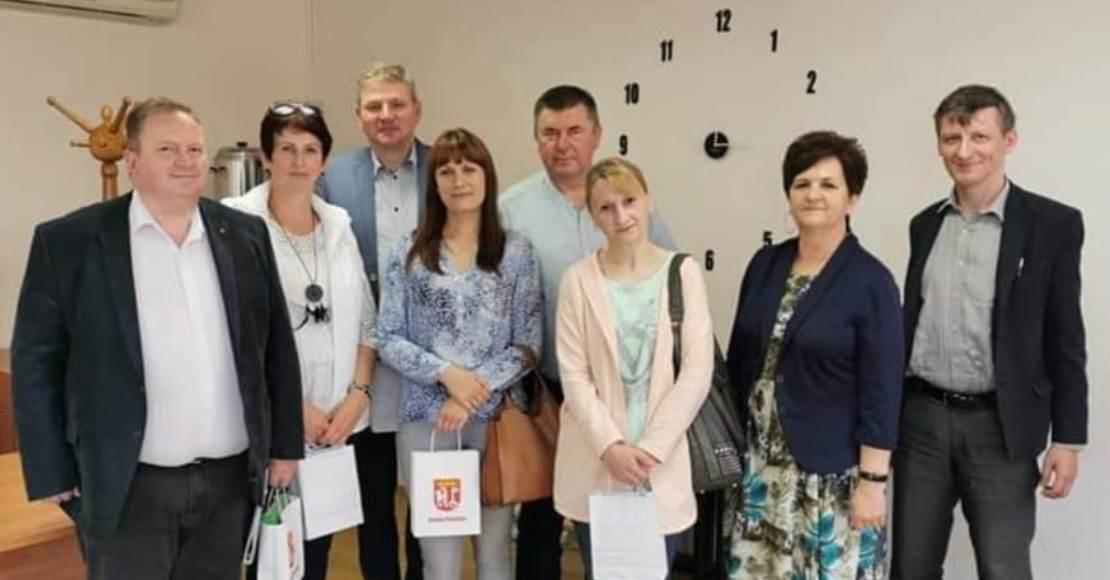 Rogoźno odwiedzili samorządowcy z Lubasza (foto)