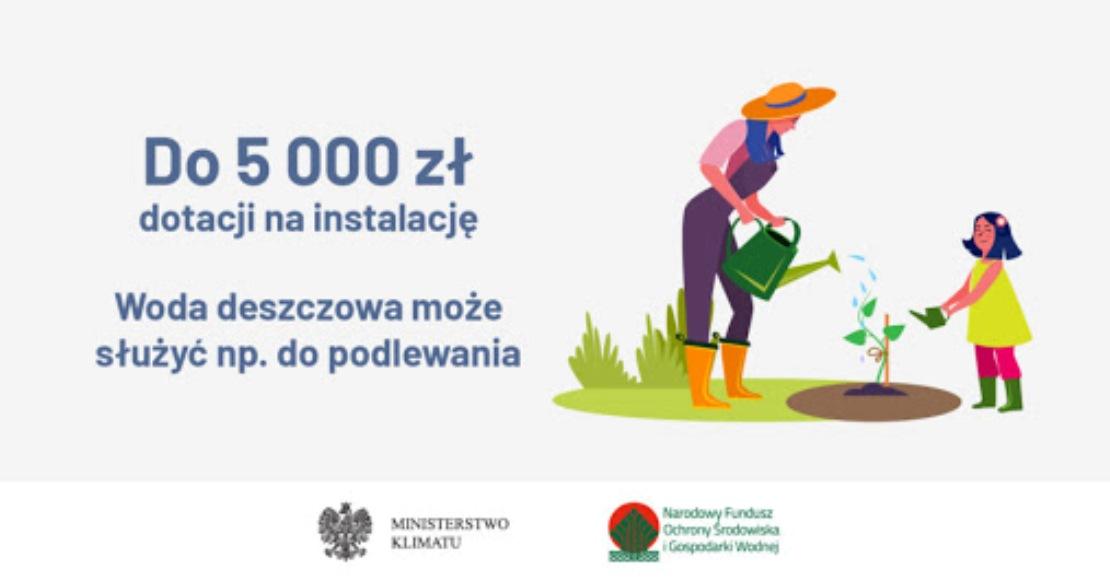 Otrzymaj dofinansowanie na przydomową instalację wodną