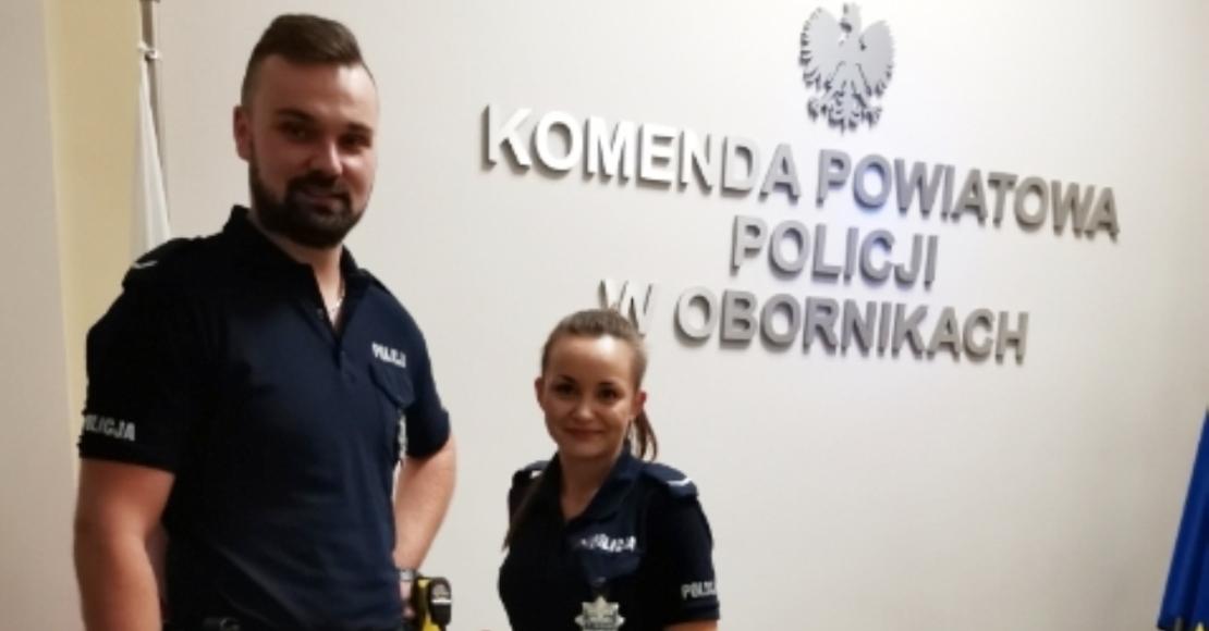 Policjanci uratowali życie 61-letniej kobiecie