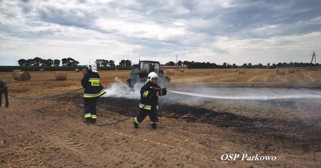 Kolejne pożary na polach