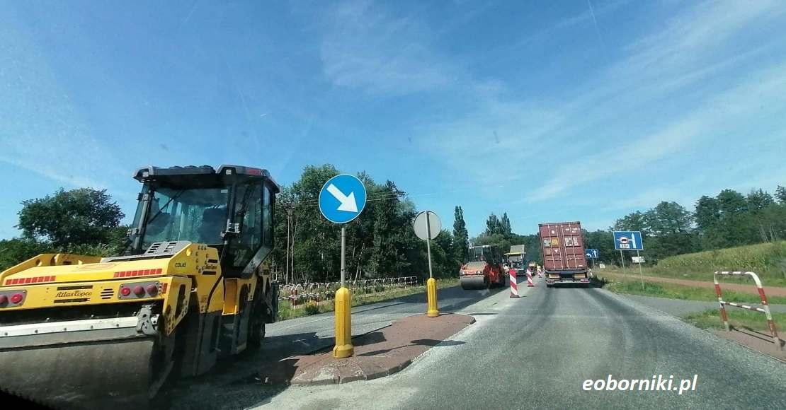 Trwa remont DK11 w Gościejewie i Tarnowie (foto)