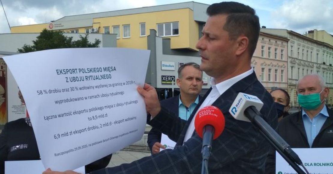 """Poseł K. Paszyk: Nie ma zgody na """"ubój rytualny"""" polskiego rolnictwa"""