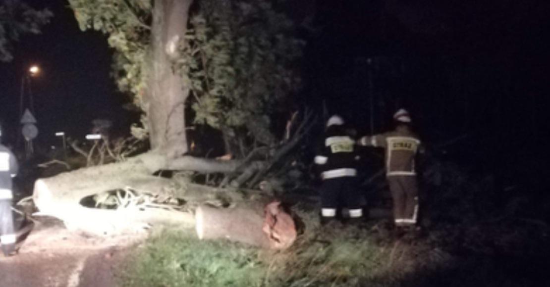 Ciężka noc dla strażaków (foto)
