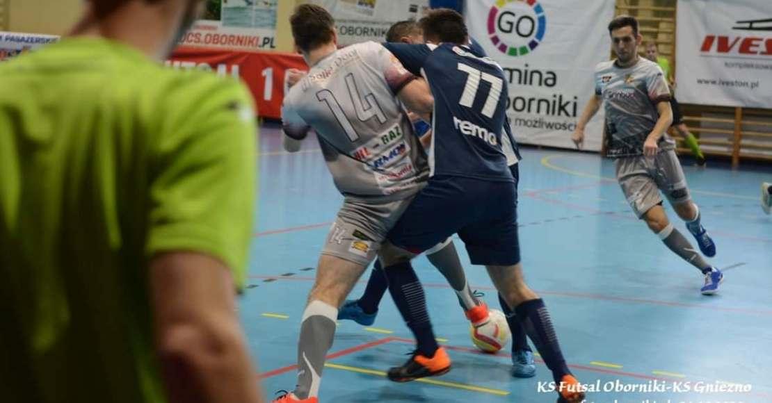 KS Futsal Oborniki - KS Gniezno 5:1 (skrót)
