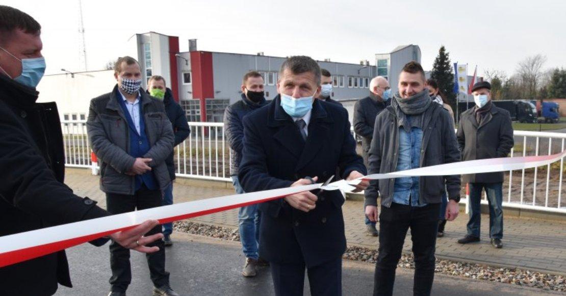 Przebudowa drogi z Obornik do Uścikowa zakończona