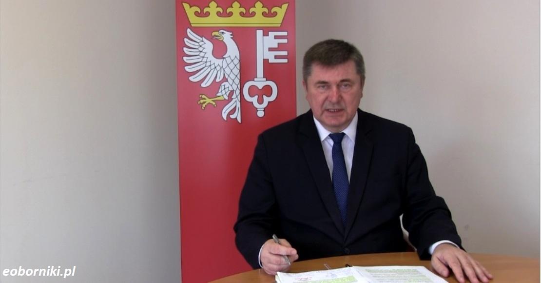 Burmistrz Rogoźna o sytuacji w gminie