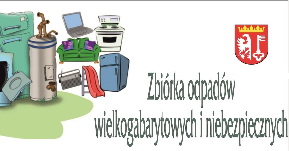 Zbiórka odpadów wielkogabarytowych i niebezpiecznych w gminie Rogoźno