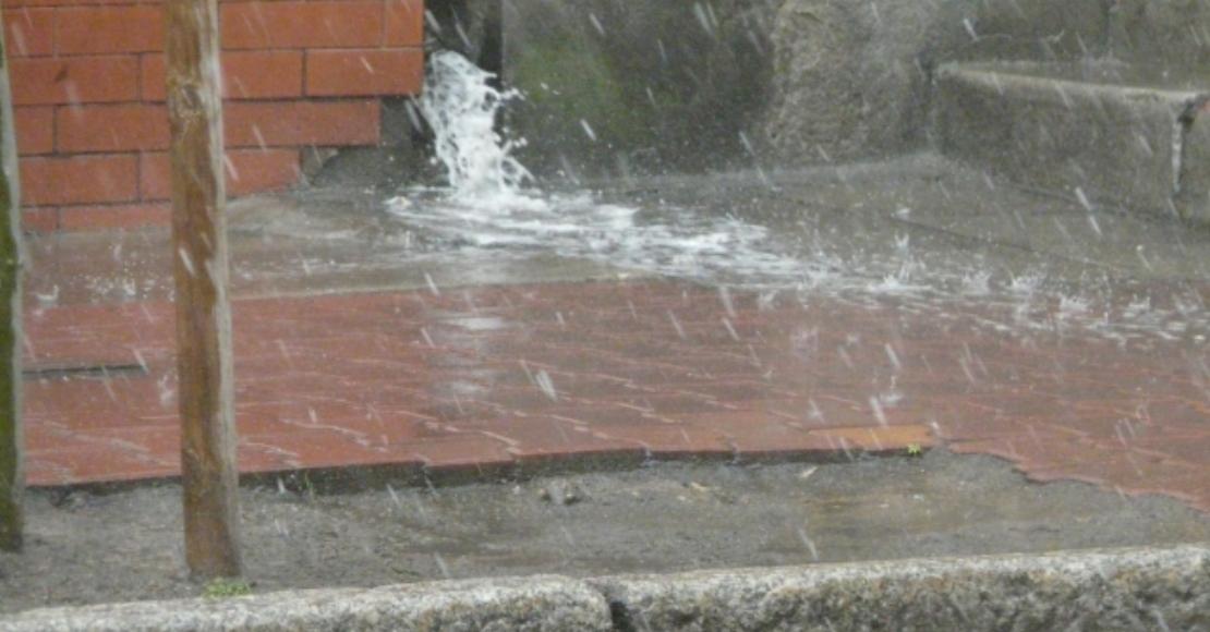 Ostrzeżenie przed silnymi opadami deszczu