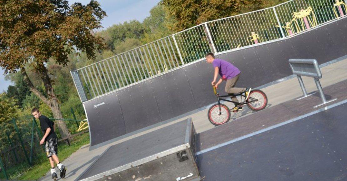 Będzie można ponownie korzystać z obornickiego skateparku