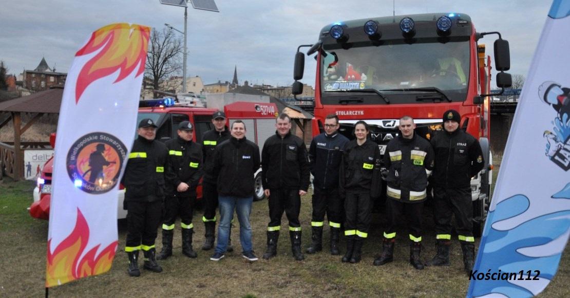 19 kwietnia strażacy będa lać wodę na marinie w Obornikach