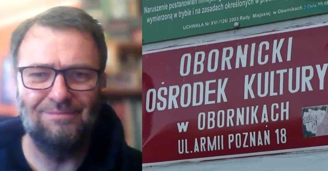 Adam Krasicki dyrektor OOK dla eoborniki.pl