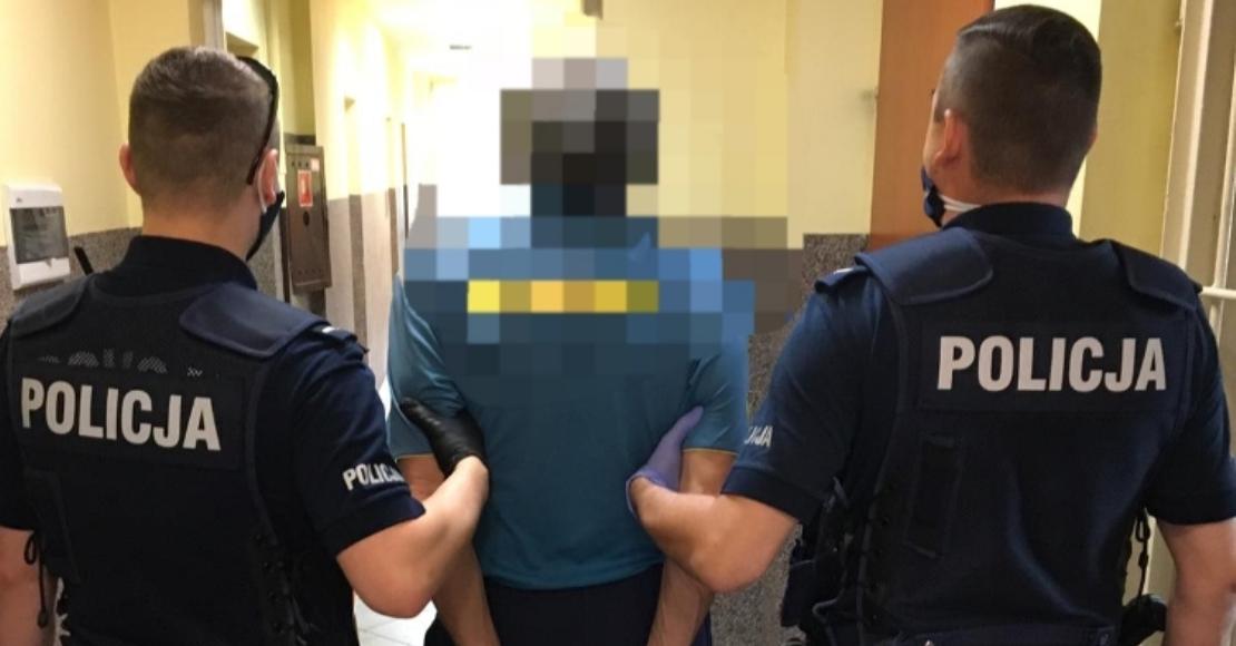 Ojciec zaatakował nożem syna