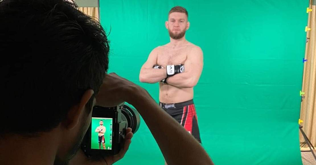Piotr Kuberski walczy w piątek w Abu Dhabi (foto)