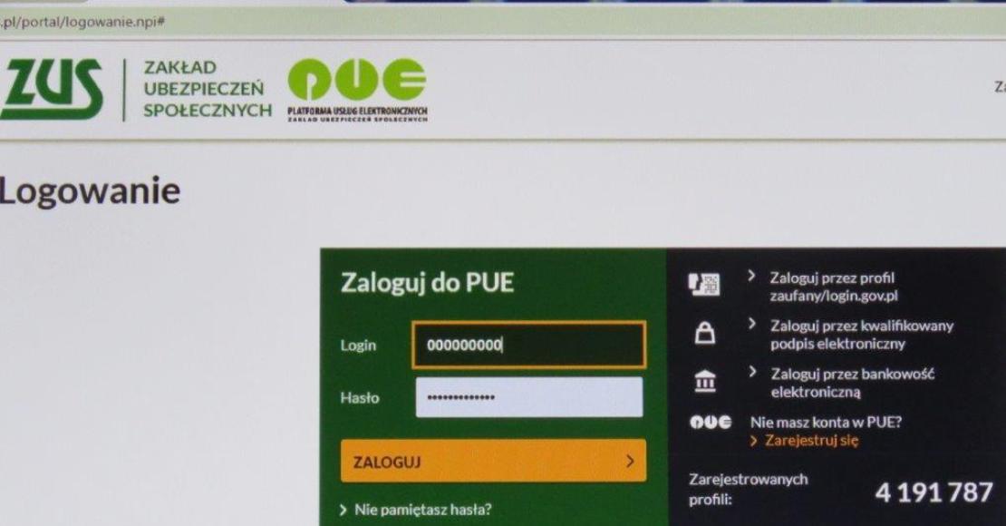 Na wizytę w ZUS możesz umówić się przez internet