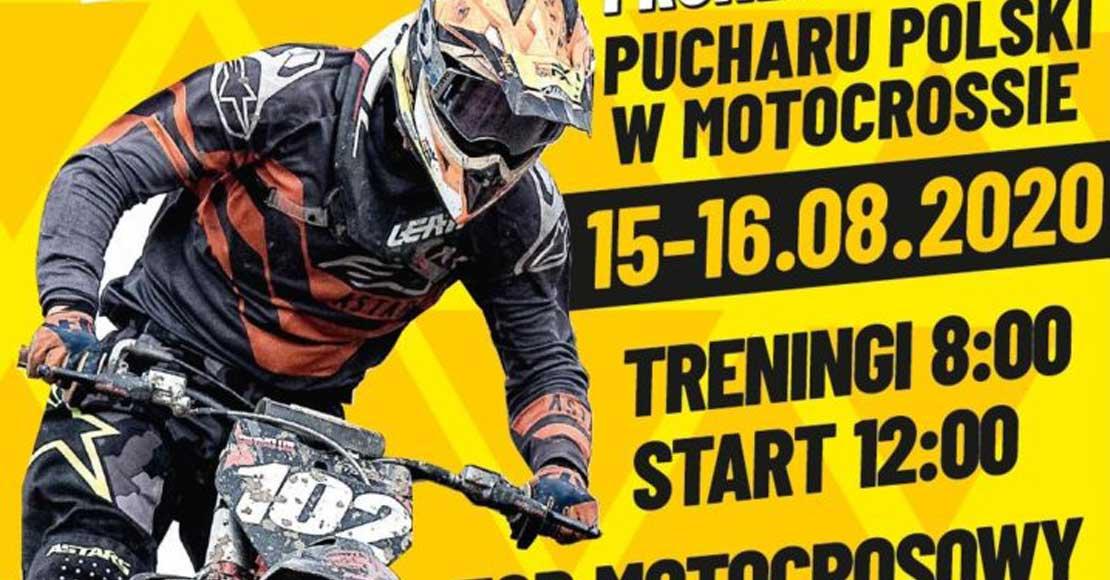 Zawody na torze motocrossowym w Obornikach
