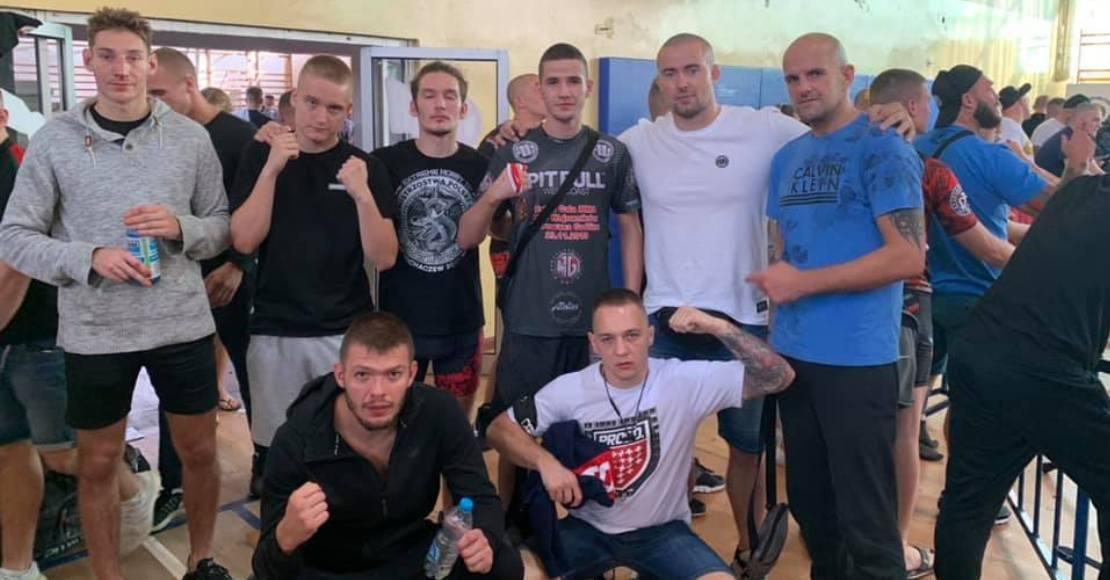 Hubert Iracki na podium Mistrzostw Polski MMA! (foto)