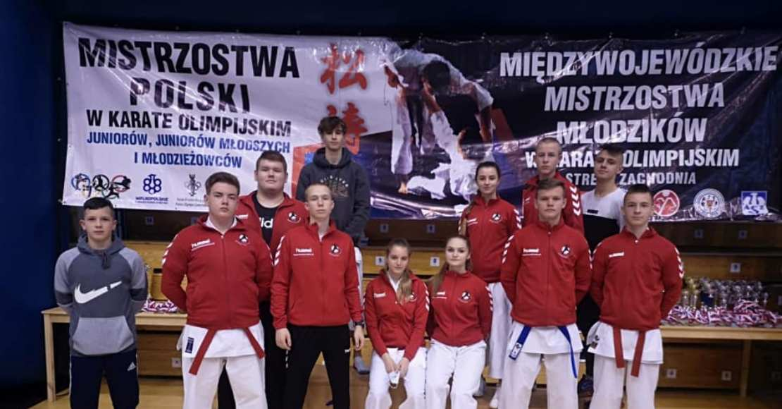 Karate Team Oborniki zwyciężyło w klasyfikacji medalowej Mistrzostw Polski (foto)