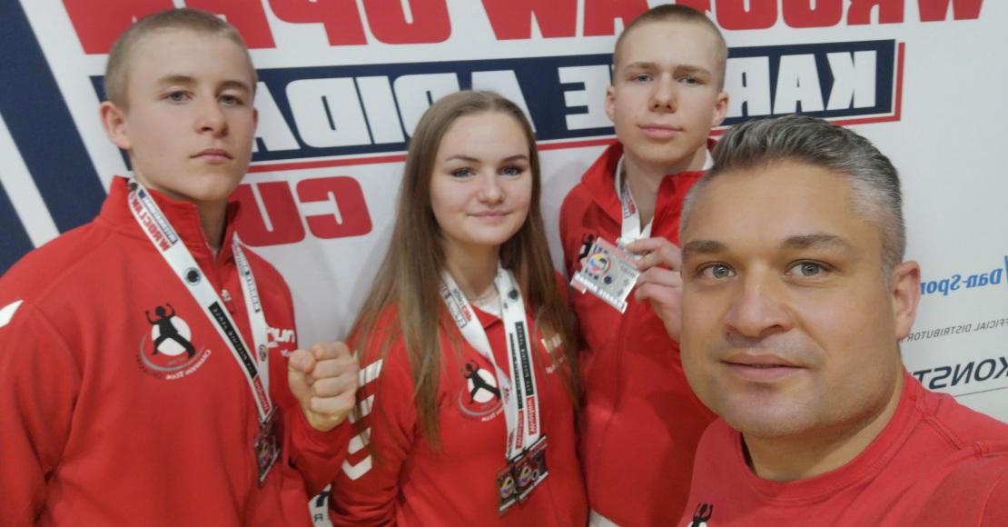 4 medale Karate Team Oborniki we Wrocławiu (foto)