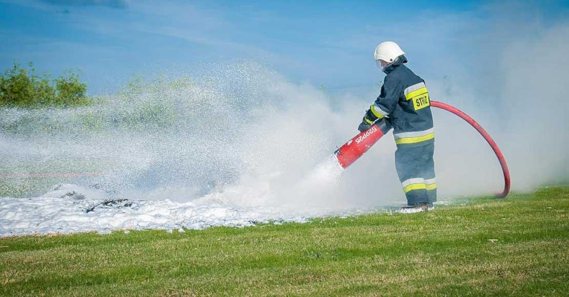 Skuteczne środki do gaszenia pożarów