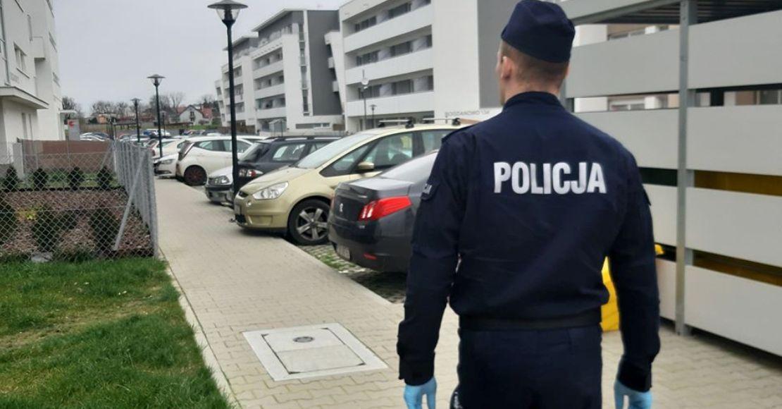 Policja apeluje: Przestrzegaj kwarantanny!