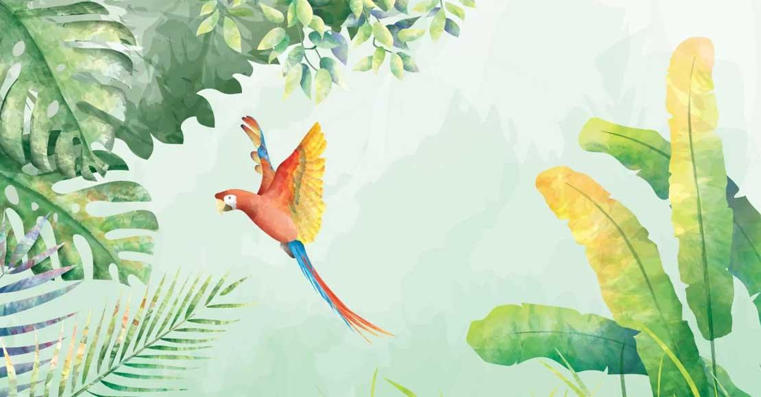 Tapeta dżungla, smoki, a może dinozaur? Niesamowite fototapety do pokoju dziecięcego!